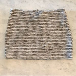 WORN ONCE - BCBGeneration Tweed Mini Skirt